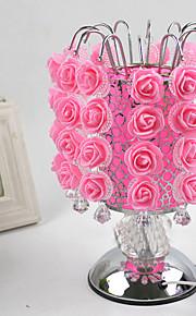 1pc roser bordlampe trykfølsom sød lampe aing slags bryllup festival gave