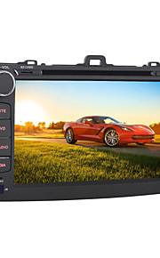 Android 5.1.1 auto dvd speler voor toyota corolla 2008 ~ 2011 quad-core 8 inch 1024 * 600 GPS-navigatie radio wifi
