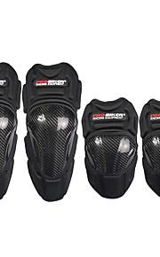 pro-motociclista di carbonio leggera in fibra di corsa tattico pastiglie di protezione del ginocchio guardia corse protezione del