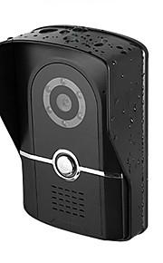 niveau nat-vision IP55 vandtæt HD1000 line kort visuel dørklokke