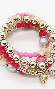 Chaînes & Bracelets / Charmes pour Bracelets / Bracelets Wrap 1pc,Bohemia style / Ajustable / Adorable / Personnalité / Couche double / A