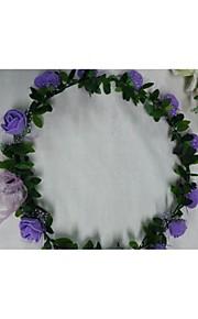 Women's Foam Headpiece-Wedding / Casual Wreaths 1 Piece Flower 50cm