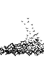 패션 / 사람들 / 스포츠 벽 스티커 플레인 월스티커 데코레이티브 월 스티커,PVC 자료 물 세탁 가능 / 이동가능 홈 장식 벽 데칼