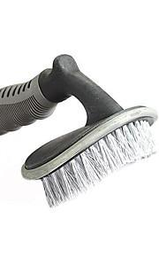 un cepillo suave herramientas de lavado de coches de la rueda