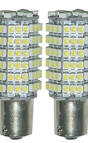 2 stuks 1156 3528 120smd geleid auto beurt staart achteruit back-up stadslicht led licht lamp (12V)