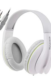 Sades SA701 Hoofdtelefoons (hoofdband)ForMediaspeler/tablet / ComputerWithmet microfoon / DJ / Volume Controle / FM Radio / Gaming /