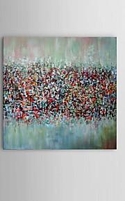 Dipinta a mano Astratto / Paesaggi / Natura morta / Fantasia Dipinti ad olio,Modern / Classico / Stile europeo Un Pannello Tela
