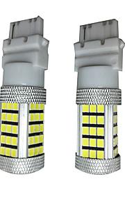 2pcs 7440 12v 50w cree llevó el coche llevó la luz de señal, luz de freno del coche con brillantes