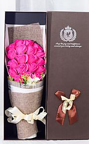 Brudebuketter Kaskade Roser Dekorationer Fest & Aften Tørrede Blomster 15.75 tommer (ca. 40cm)