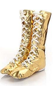 Sapatos de Dança(Prateado / Dourado) -Feminino-Personalizável-Jazz / Tênis de Dança