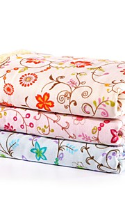 """1 PC Full Cotton Hand Towel 13"""" by 31"""" Super Soft Floral Pattern"""