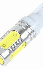 2 stuks t10 7.5W cob 5led high power auto auto geleid zijmarkeringslamp kentekenplaatverlichting deur lamp DC12V