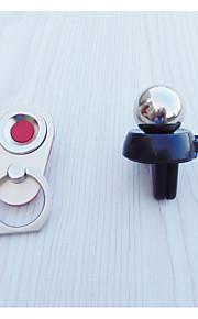 universal mini magnetisk silikone bil luftskrue mount mobiltelefonholder