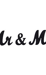 Vintage Unusual Gift Couple Mr & Mrs Letters Sign Rustic Shabby Chic Wedding Y Main