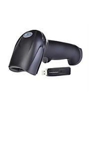 trådløs laser stregkode scanning pistol (scan rate: 200 (mm / sekund), USB-interface, opløsning: 4mil)