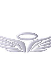 adesivi per auto, 3d stereo ali d'angelo autoadesivo del PVC, decorazione personalizzata pasta morbida