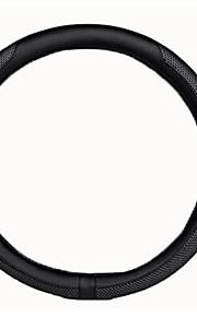 auto stuurwiel, netwerk zijde leer mode-versie van de universele stuurwiel te dekken, diameter 38cm