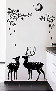 Animales Pegatinas de pared Calcomanías de Aviones para Pared Calcomanías Decorativas de Pared,PVC Material Lavable Decoración hogareña