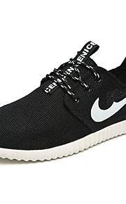 Women's Shoes Tulle Spring / Summer Comfort Sneakers Casual Flat Heel  Black / Gray Walking