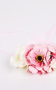 ウェディングブーケ ハンドタイド バラ リストブーケ 結婚式 / パーティー ・夜 ポリエステル / シフォン / フォーム 3.94inch(約10cm)