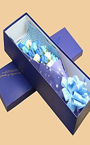 Bouquet sposa Cascata Rose Decorazioni Partito / sera Poliestere 32cm
