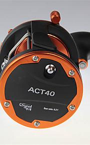 Pyörökelat 6.2/1 4.0 Kuulalaakerit exchangable Virvelöinti / Viehekalastus-ACT-40 Singnoe