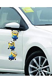 piccolo ladro uomo giallo papà retrovisori veicolo adesivi anta a specchio lahua adesivi ornamento di cofano e vinci e-52