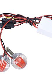 carking 1W LED kentekenverlichting neutraal wit licht (12v / 2 stuks)