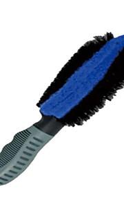 la llanta y rueda llanta de limpieza cepillo de engrosamiento 100 paño limpio limpieza de una belleza coche limpio