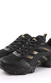 Для мужчин-Кожа-Не персонализируемая(Серый / Золотистый) -Танцевальные кроссовки / Модерн