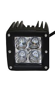 1stk populære modeller førte arbejdslygter IP68 12W Cree 4x4 førte arbejde lys