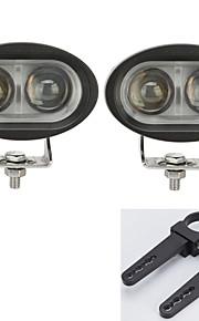 2 stuks geleid cree lichtbalken rijden offroad atv UTV met een paar van 1,5 inchmounting beugels