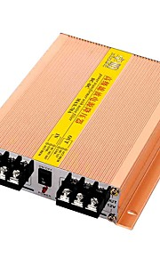 Gold Tone Metal DC 24V to 12V 70A Power Supply Converter Tranformer