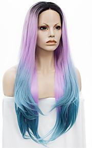 Lace Wig Parykker til kvinner Pink costume Parykker Cosplay Parykker