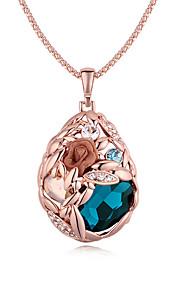 Colliers Tendance Pendentif de collier Bijoux Soirée Mode Alliage Doré 1pc Cadeau