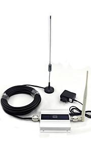 gsm 900MHz signaal booster 2G mobiele telefoon signaal repeater met antenne volledige set / mini / lcd-display