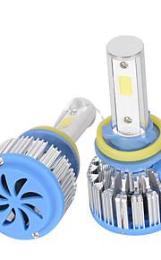 H1/H3/H4/H7/H8/H11/9005/9006/880 Car LED Headlight Front Fog Lamp Bulb 36W 2800L