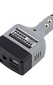 dc 12 / 24V til AC 220V / usb 6v bil mobil power inverter adapter bil strøm konverter oplader bruges til alle mobiltelefoner