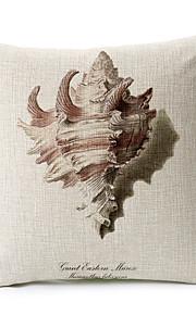 1 pcs Coton/Lin Canapé Coussin / Taie d'oreiller / Oreiller de corps,Nouveauté / Imprimé animal Moderne/Contemporain