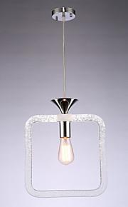 8W מנורות תלויות ,  מסורתי/ קלאסי צביעה מאפיין for LED אקרילי חדר שינה / חדר אוכל / חדר עבודה / משרד / חדר ילדים / מסדרון / מוסך