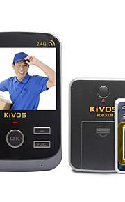 30W像素 120° CMOS deurbelsysteem Draadloos Gefotografeerd / Opname