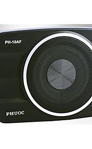 ph-10af slank Phuoc slank bil bas kanon høj effekt aktiv bas stereo bil bas