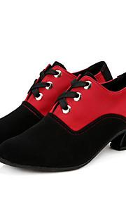 Sapatos de Dança(Preto / Marrom) -Feminino-Não Personalizável-Latina / Botas de dança
