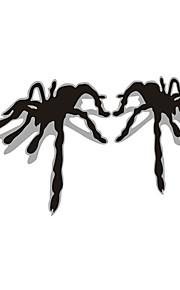 3d auto spider auto vetrofania parete decalcomania styling (2 pezzi)
