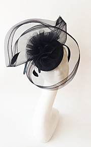 Kentucky Derby Church Races Black Flax Wedding Event Fascinator