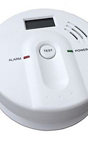alarme de monoxyde de carbone avec 85 db alarme et affichage à cristaux liquides et le niveau d'alarme en5029