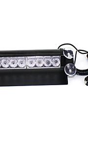shovel lamp s2 voorste blok barsten flash high power heldere bliksem 8LED auto waarschuwingslichten