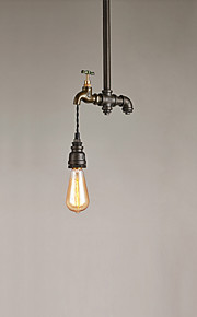 Max 60W מנורות תלויות ,  מסורתי/ קלאסי / סגנון חלוד/בקתה / וינטאג' / רטרו / גס צביעה מאפיין for סגנון קטן מתכתחדר שינה / חדר אוכל / מטבח