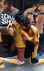 One Piece Monkey D. Luffy PVC 14CM Anime Action Figurer Modell Leker Doll Toy
