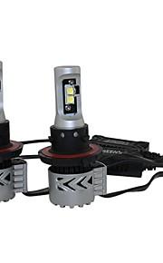 2016 nieuwste populaire 4 stuks Cree LED koplampen h13 / 9013 72W 6500k 12000lm